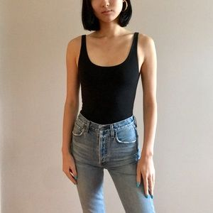 Topshop black bodysuit